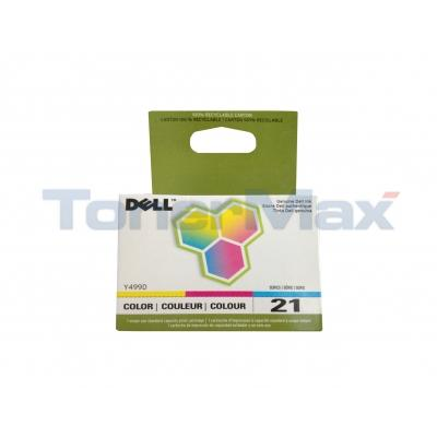 DELL P715W SINGLE USE SERIES 21 PRINT CART CLR